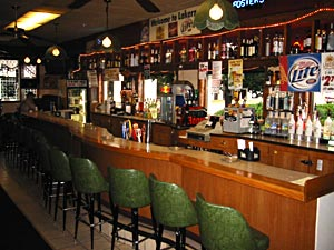 Did we mention this is a really LONG bar?
